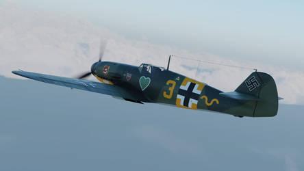 Bf-109 G-2 by marinkognito2