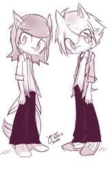 Rekif and Roslan by bluegin-kin