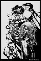 spiderwoman symbiote by Edge-Works