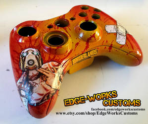 Borderlands Psycho Controller by Edge-Works