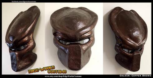 Predator Bio Helmet   Copper Brown by Edge-Works