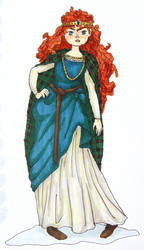 Period Merida by annamae411