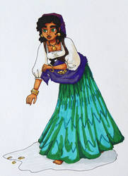Period Esmeralda by annamae411