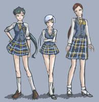 Starlight Uniforms (Fem) by daisydeadpetal5