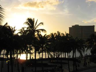 Waikiki Beach - Hawaii by CharlieFleed