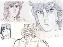 Tiger Mask II by CharlieFleed