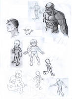 Sketches by CharlieFleed