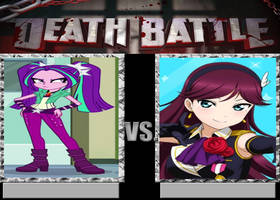 Death Battle-Aria Blaze vs Erena by EarWaxKid
