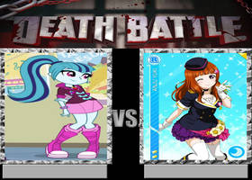 Death Battle-Sonata Dusk vs Anji Yuki by EarWaxKid