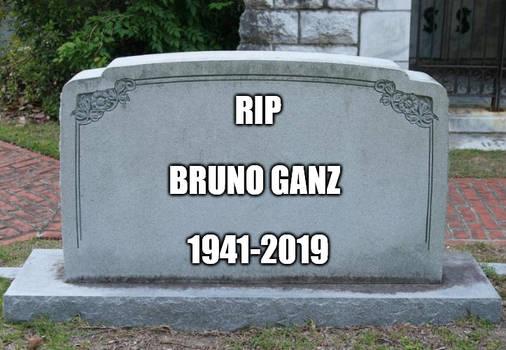 RIP Bruno Ganz 1941-2019 by EarWaxKid