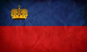 Liechtenstein's Flag by pilwe