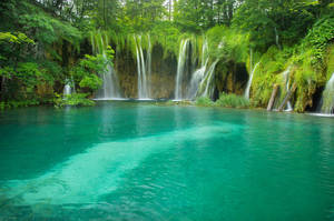 Plitvice Lakes by GaelleNHarper