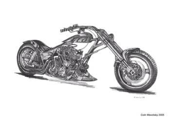 Harley Davidson Custom 2 by kloggi69