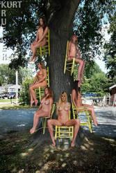 The Sitting Tree by KurtKrueger