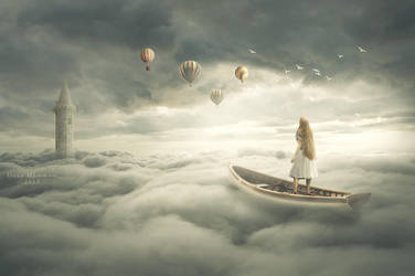Above the clouds by DoaaHammam