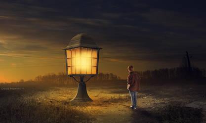Light Lamp by DoaaHammam