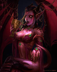 Succubus Queen of Sin by Fanfoxy