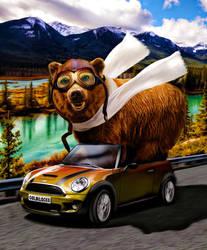 Bear Necessities by azrainman