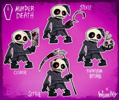 MURDER DEATH ARSENAL by WORMBOYx