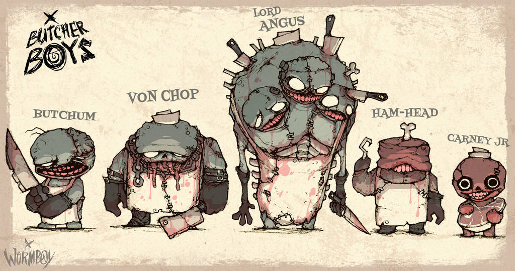 BUTCHER BOYS - CHOICE CUTS by WORMBOYx