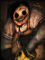 LEATHERFACE by WORMBOYx