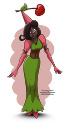 Princess Cherie: Humanized by Comic-Ray