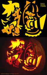 Panty and Stocking Halloween by EazilyAmewzed