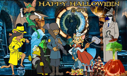 CDD Halloween of yesteryear by EazilyAmewzed