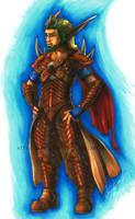 Warrior King of Spargas by DarkEcoKat