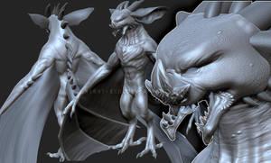 Darastryx WIP 2 by DarkEcoKat