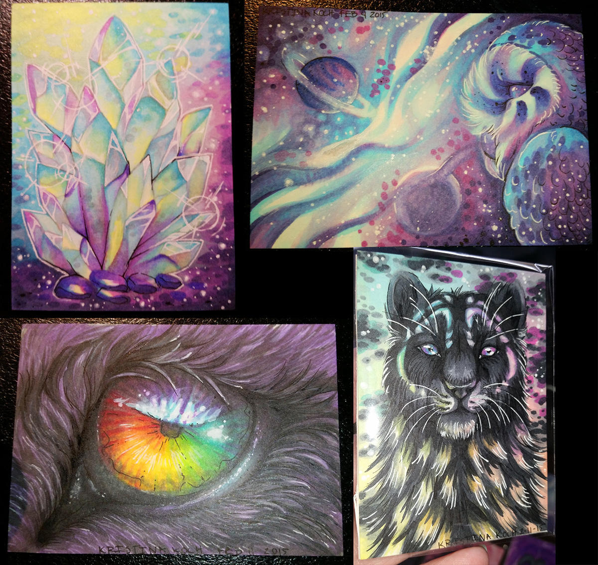 ACEO Collage by DarkEcoKat