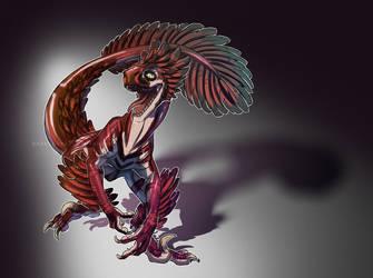 Raptor Hudart by DarkEcoKat