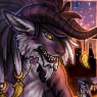 Behemothclaw Malik Furcadia Port by DarkEcoKat