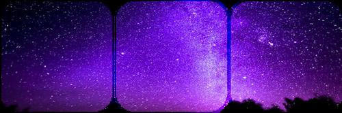 purple stargazing -decor- by KIngBases