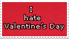 Anti Valentine's Day -stamp- by KIngBases