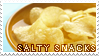 salty snacks -stamp- by KIngBases