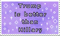 hey look a politics stamp -stamp- by KIngBases