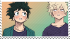 Bakudeku -stamp- by KIngBases