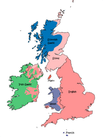 Languages of the British Isles 1800 by Thumboy21