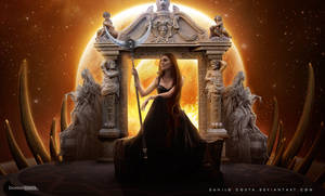 Queen of all worlds by Danilo-Costa
