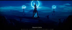 Space desert by Danilo-Costa