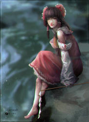 Long time no see, Reimu by Ayywa
