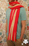BACON SCARF by JanellesPlushies