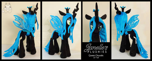 Queen Chrysalis by JanellesPlushies