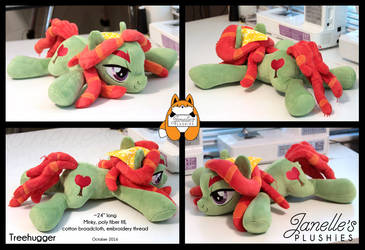 Treehugger laying plush by JanellesPlushies