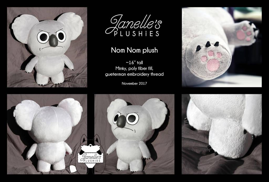 Nom Nom Plushie *For Sale* by JanellesPlushies