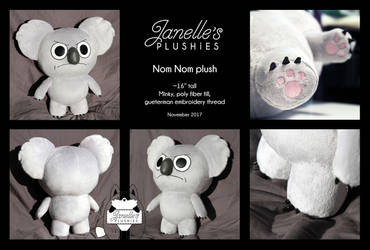 Nom Nom Plushie *For Sale* by JanellesPlushies