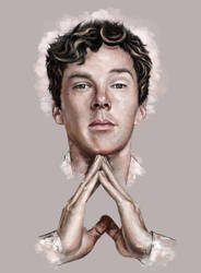 Benedict Cumberbatch by christine-gentry