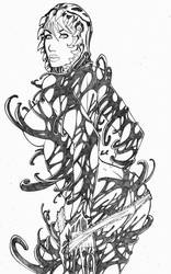 Mary Jane Venom Commission for Mercutio19 by LCFreitas