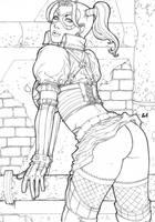 Harley Quinn by LCFreitas